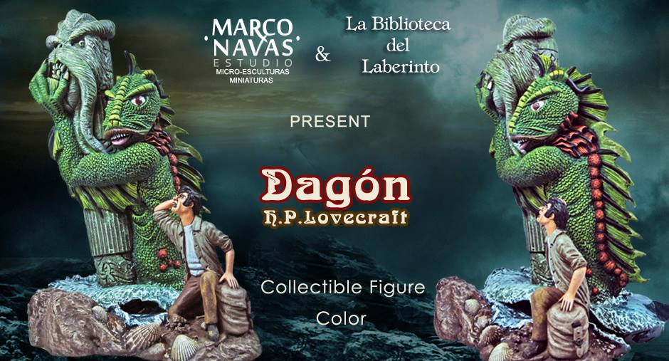 Marcos Navas Dagon. Figura acabado color