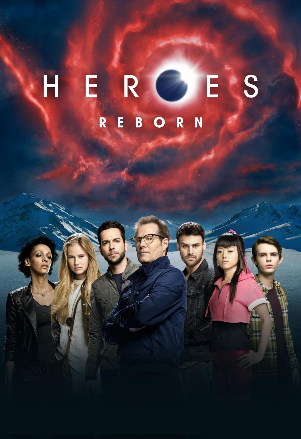 Héroes Reborn en SyFy España
