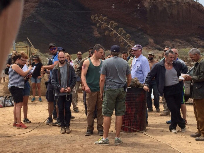 Matt Damon Jason Bourne 5 Tenerife