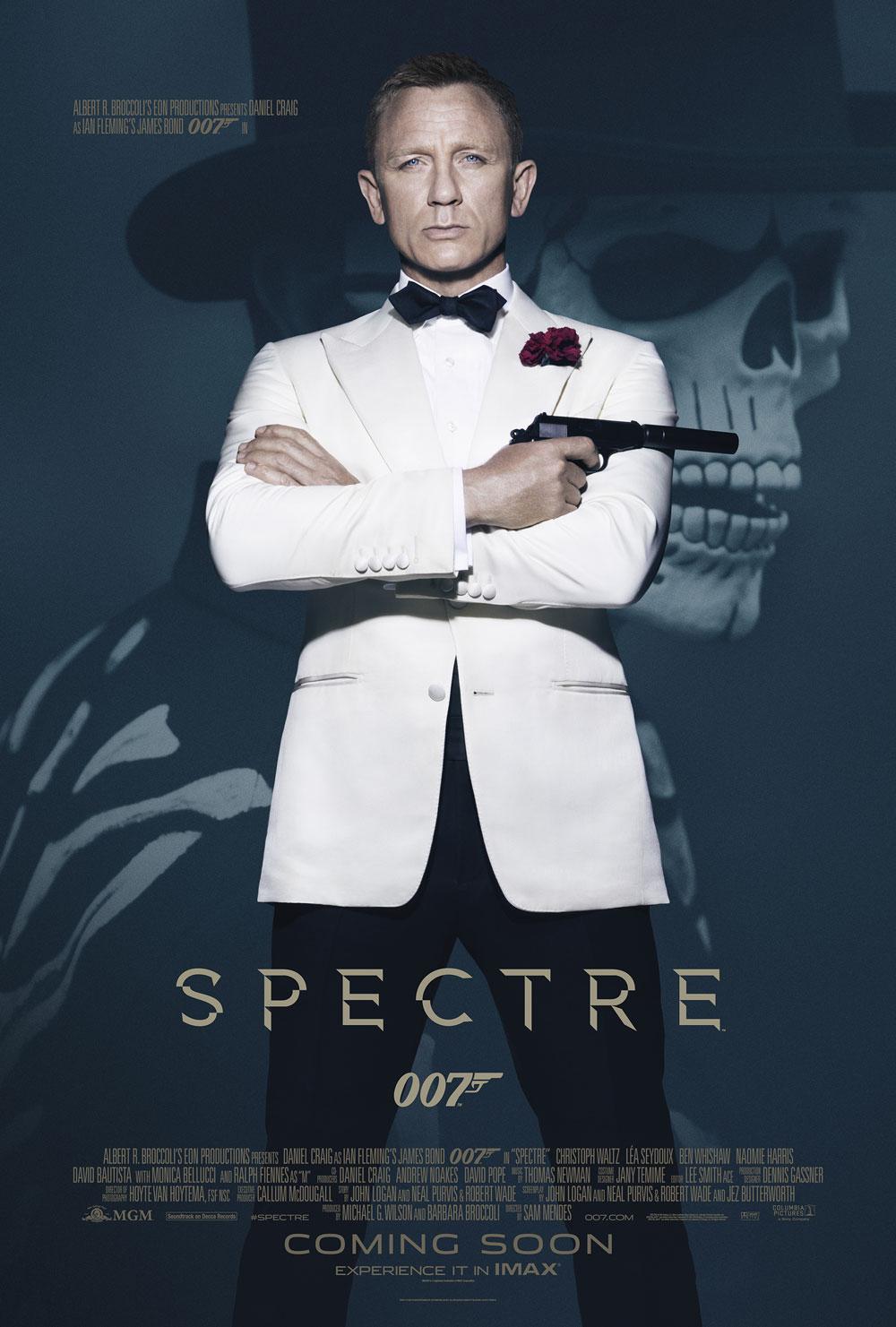 007. Spectre. Poster