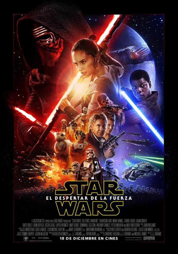 Star Wars. El despertar de la fuerza poster en español