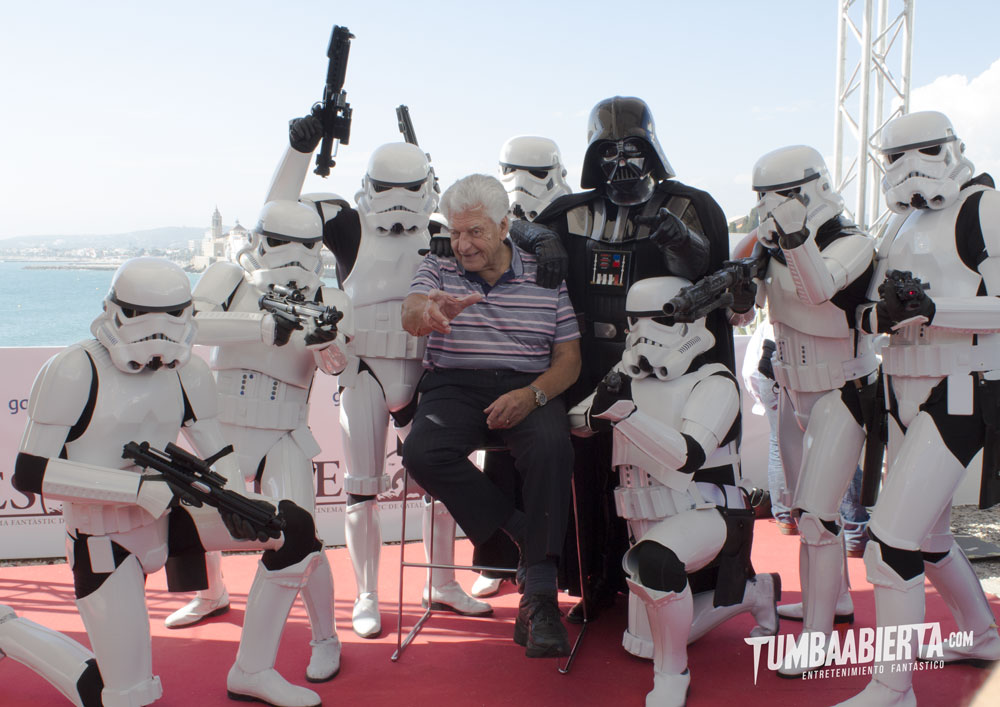 David Prowse Sitges 2015. I am Your Father