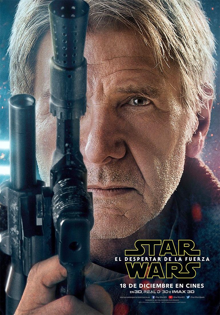Star Wars: El despertar de la fuerza Han Solo