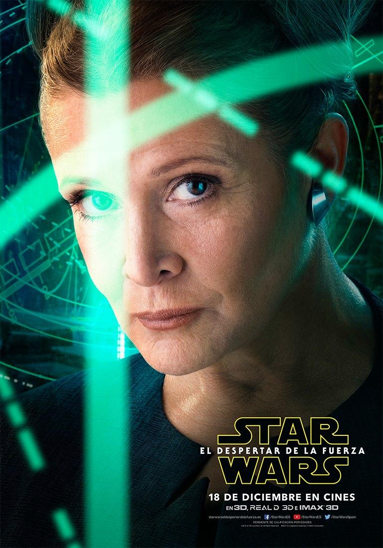 Star Wars: El despertar de la fuerza Leia Organa
