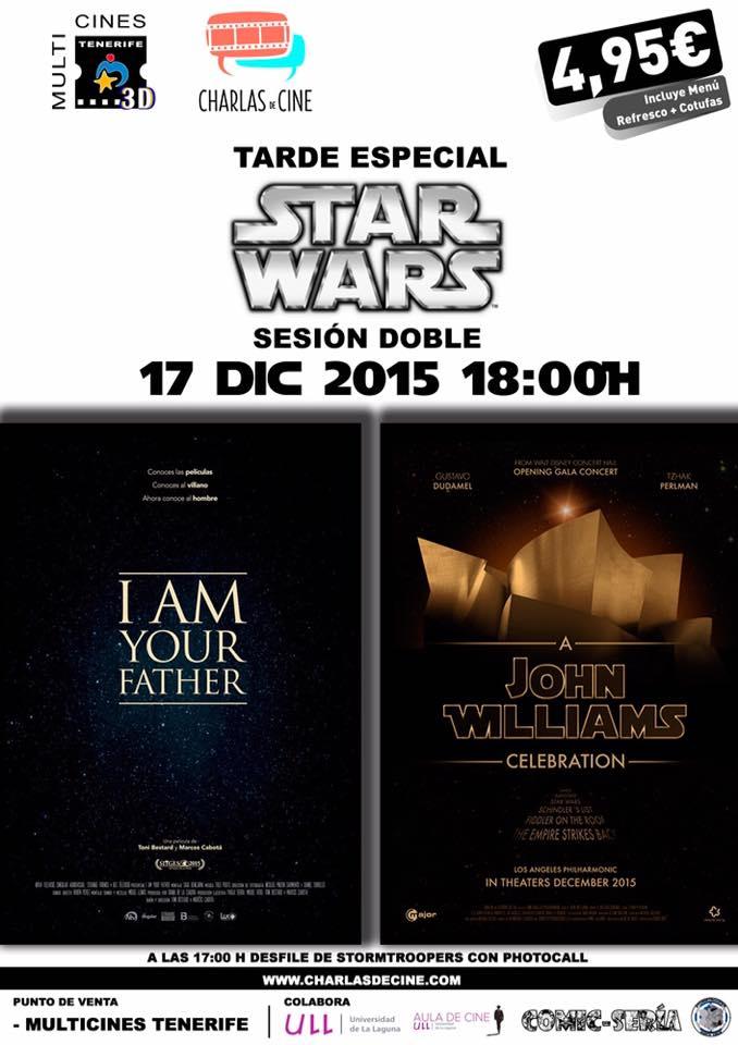 Charlas de Cine. I am your Father