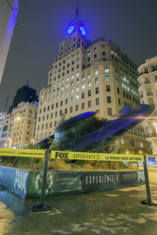FOX EXPEDIENTE X OVNI Madrid