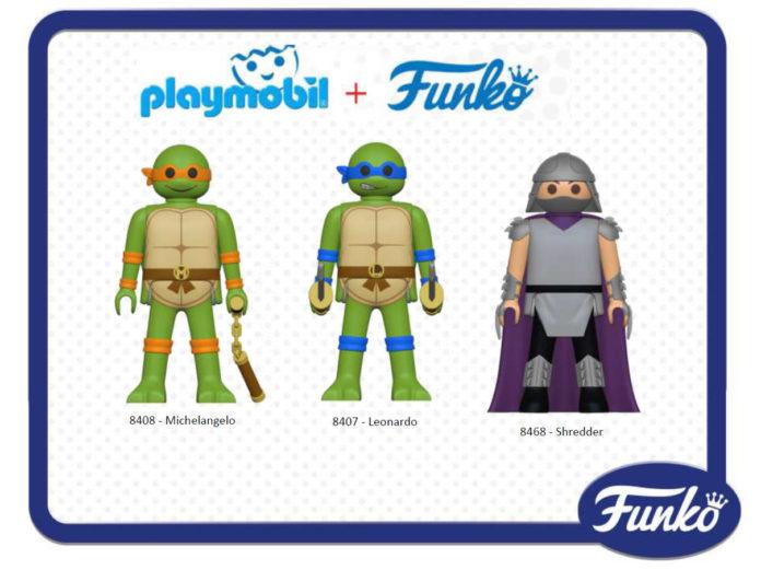 Playmobil Funko Tortugas Ninja
