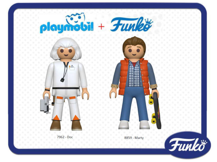 Playmobil Funko Regreso al Futuro