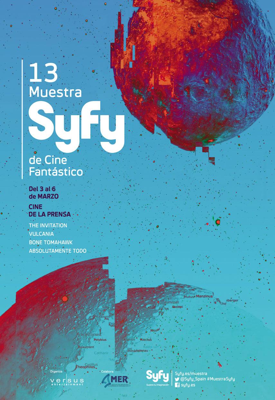 13 Muestra SyFy España poster