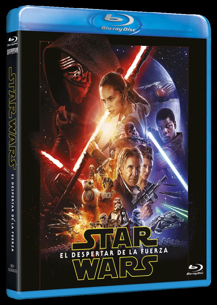 Star Wars: El despertar de la fuerza en DVD
