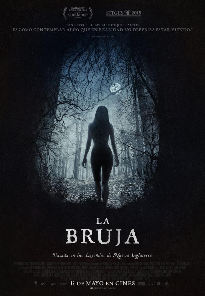La bruja. Cartel español
