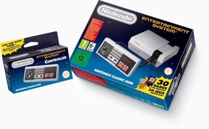 Nintendo Classic Mini NES Mando
