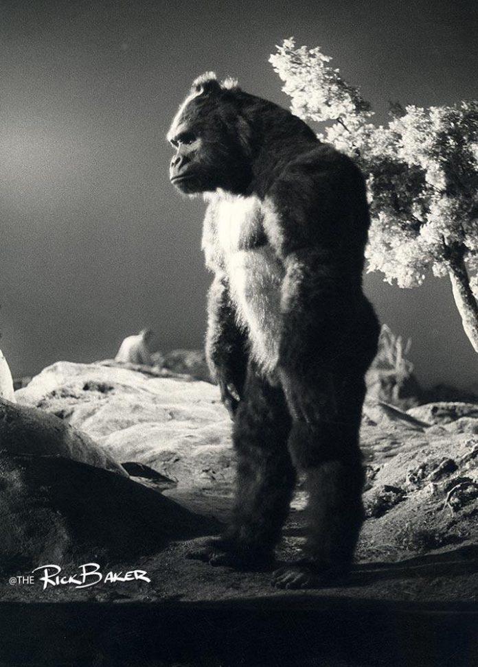 Rick Baker en King Kong