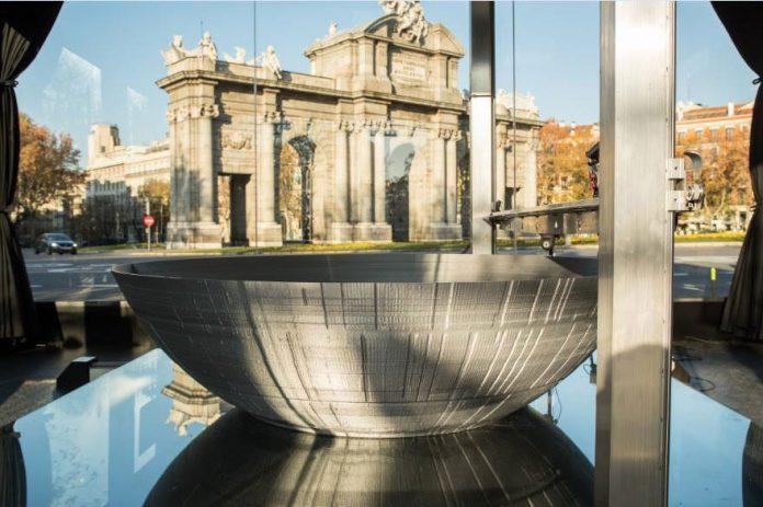 Estrella de la Muerte en 3D. Madrid