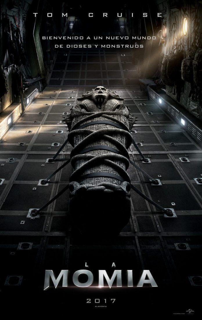 La momia. Tom Cruise. Cartel Español