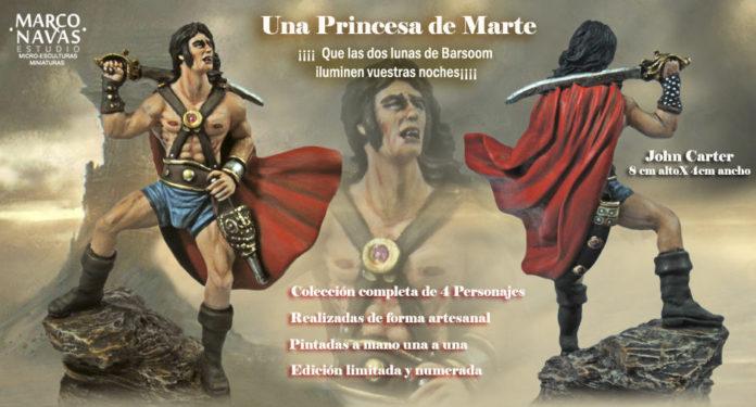 Marco Navas Estudio. Una princesa de Marte -Edgar Rice Burroughs