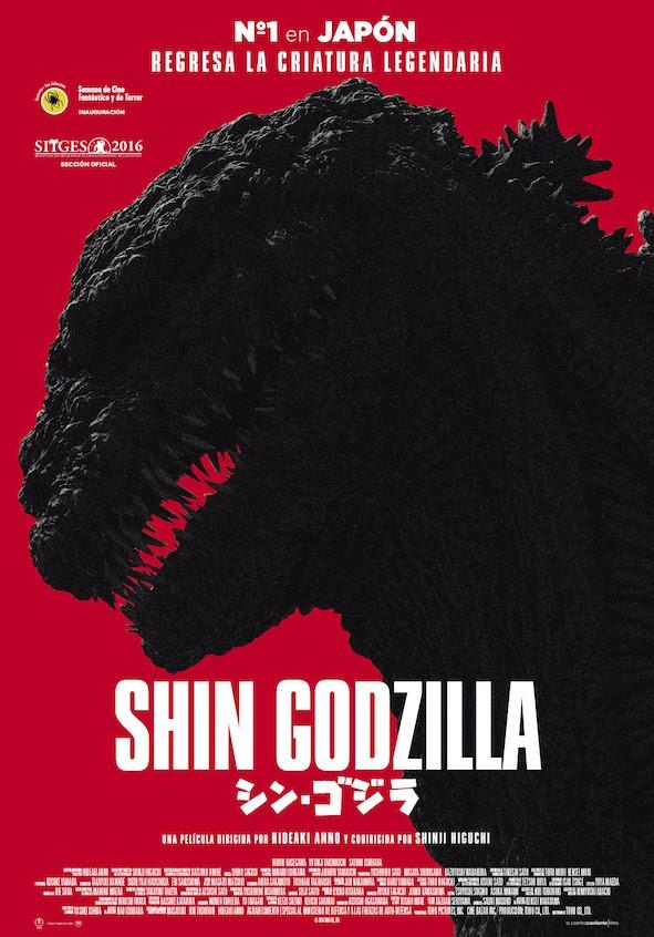 Shin Godzilla poster español