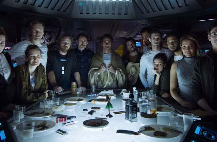 Alien Covenant tripulación