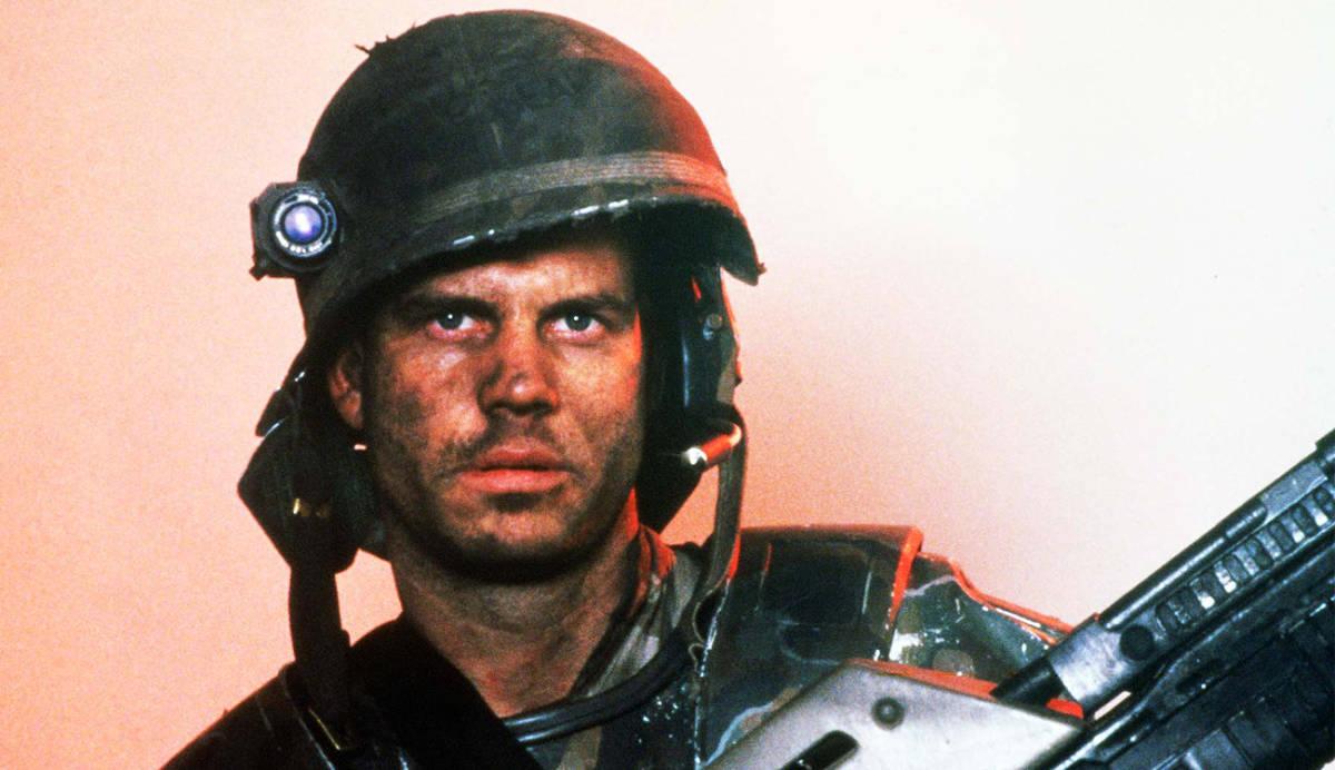"""Bil Paxton en""""Aliens: El regreso"""""""