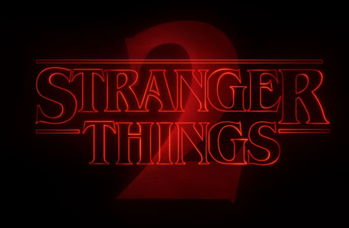 Stranger Thing Temporada 2 Logo