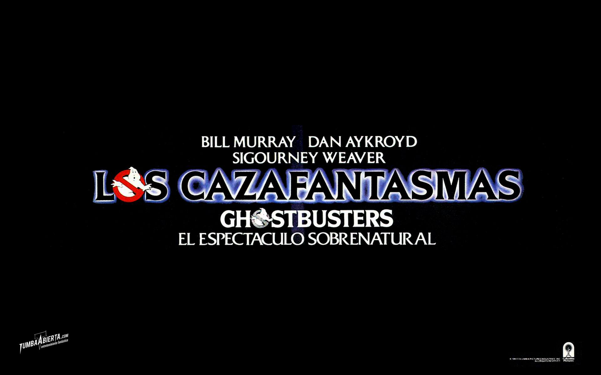 Wallpaper Los Cazafantasmas