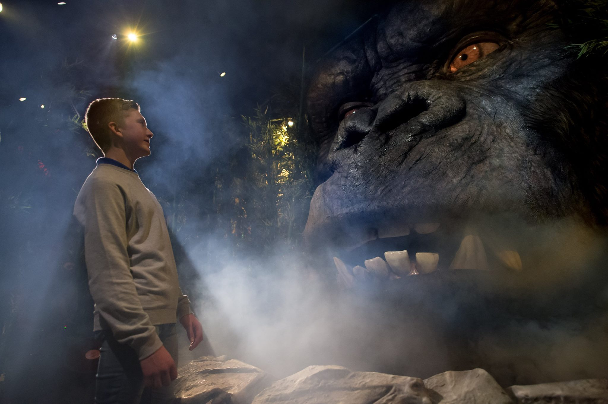 KONG Skull Island en Madame Tussauds London