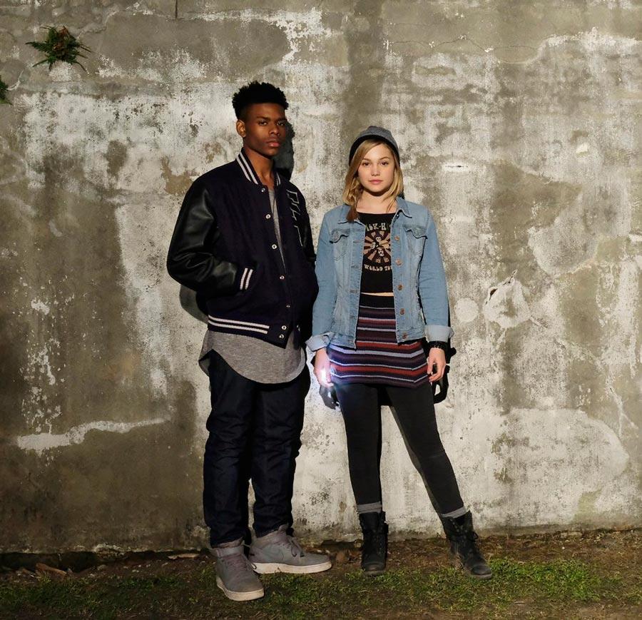 Aubrey Joseph y Olivia Holt