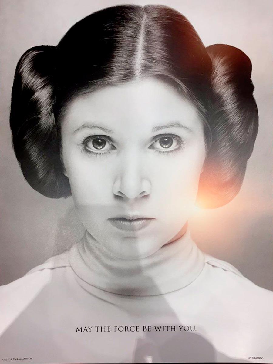 Princesa Leia poster Star Wars