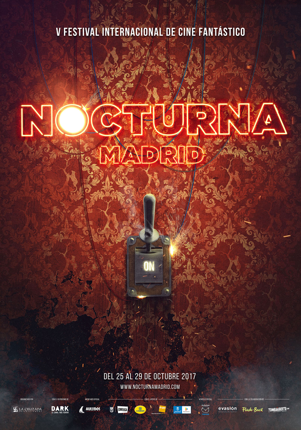 Nocturna Madrid 2017 poster