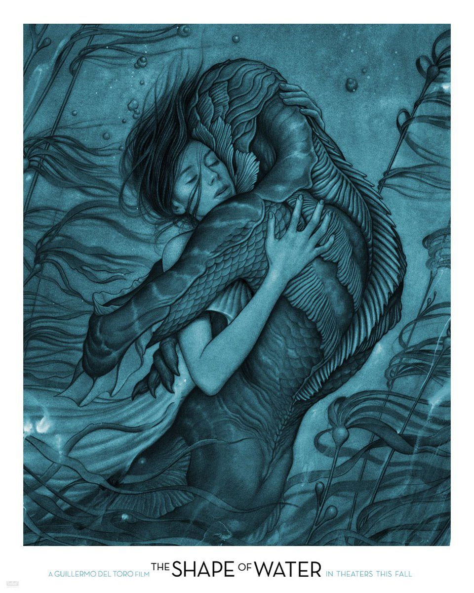 The shape of water poster art