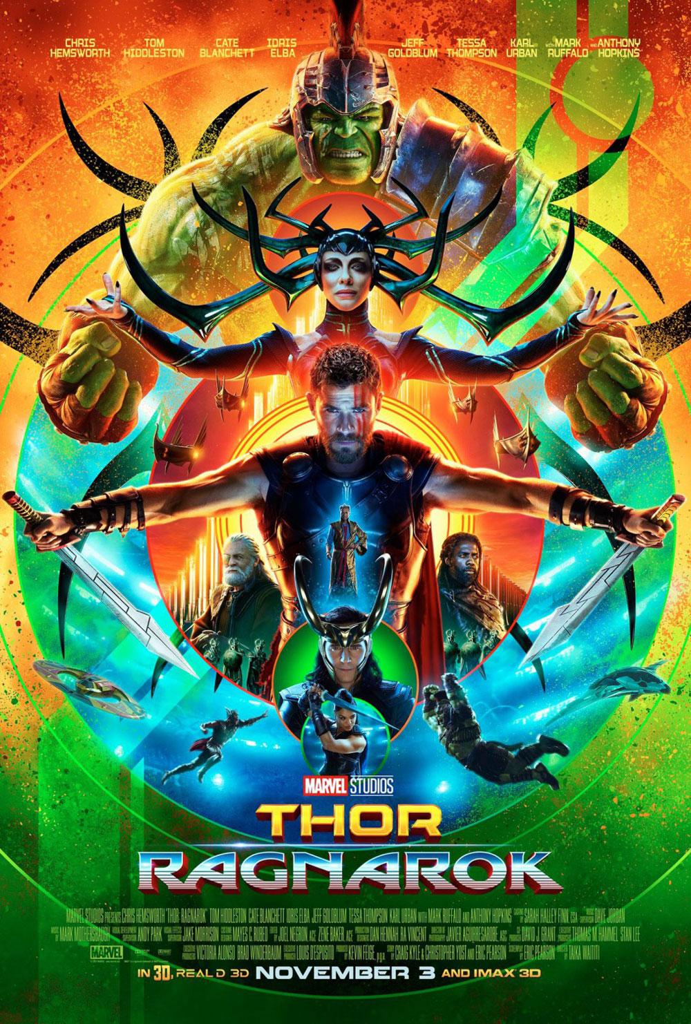 Thor: Raknarok Poster