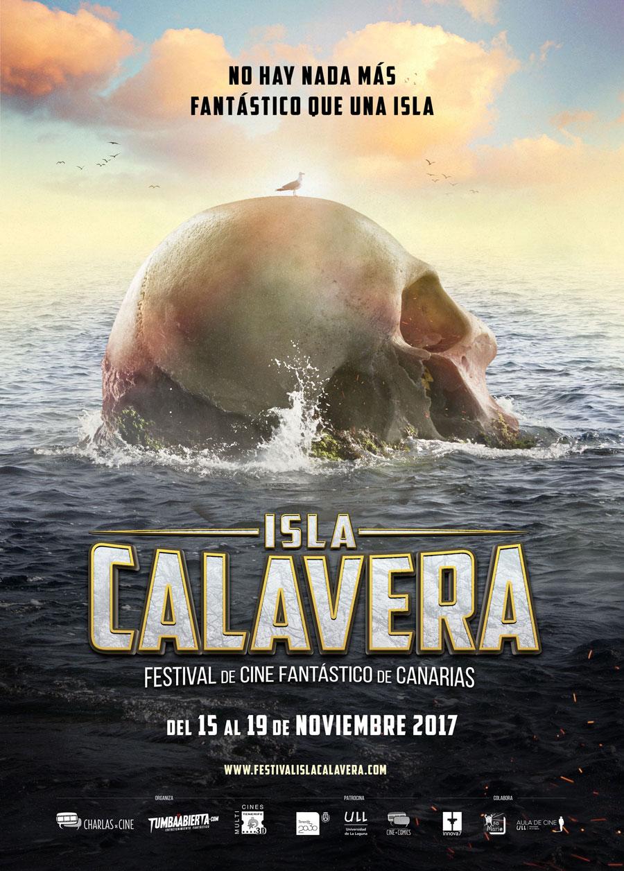poster ISLA CALAVERA Festival de Cine Fantástico de Canarias