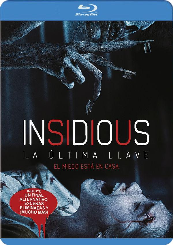 Insidious: La última llave. Blu-ray