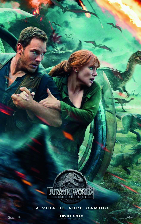 Cartel de Cartel de Jurassic World: El reino caído