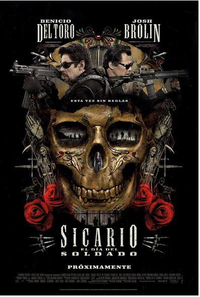 Cartel de 'Sicario: El día del soldado'. | Sony Pictures