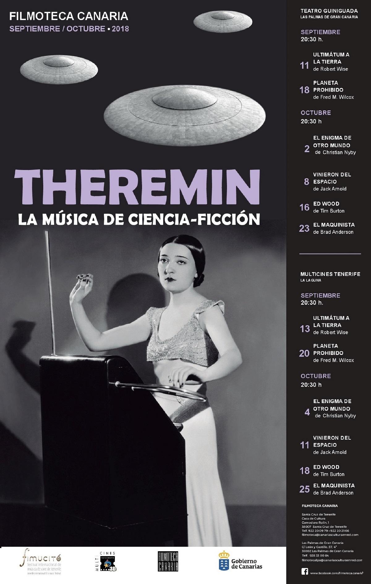 Ciclo 'Theremín, la música de ciencia ficción'