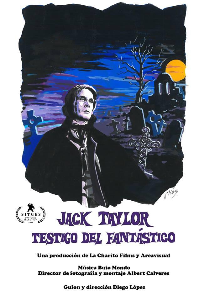 Cartel del documental 'Jack Taylor, testigo del fantástico'.