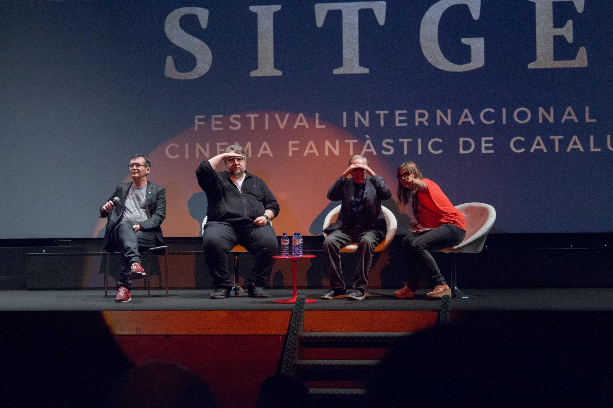 Guillermo Del Toro y Darío Argento Sitges 2017