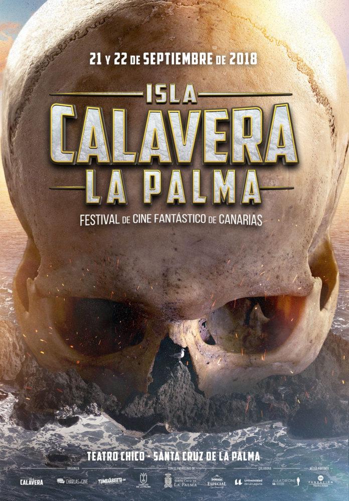 Póster Festival Isla Calavera edición La Palma.