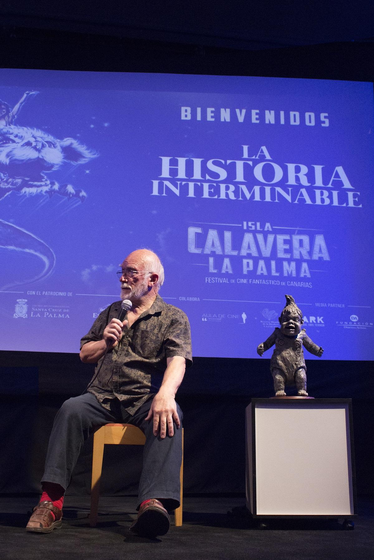 Colin Arthur visita el Festival Isla Calavera en La Palma. | Foto: Daniel Fumero