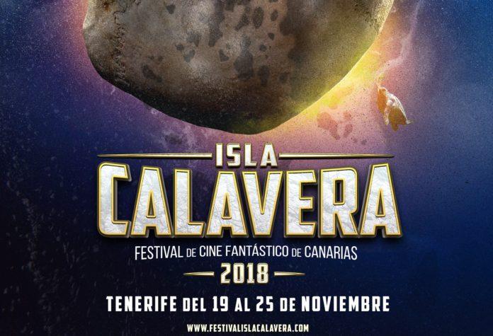 Detalle del cartel del Festival de Cine Fantástico de Canarias - Isla Calavera.