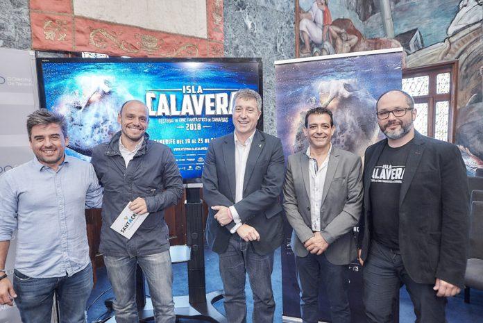 Ramón González Trujillo, Alfonso Cabello, José Luis Rivero, Francisco Marichal y Daniel Fumero.