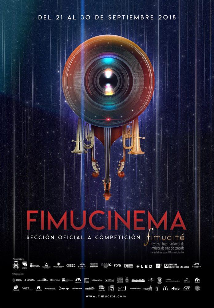 Póster FIMUCINEMA 2018, obra de Daniel Fumero.