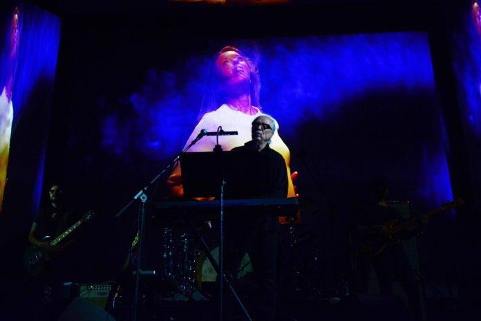 John Carpenter, durante su concierto en el Festival de Sitges.