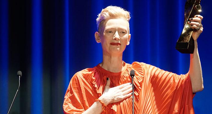 Tilda Swinton, Gran Premi Honorífic del Festival de Sitges.