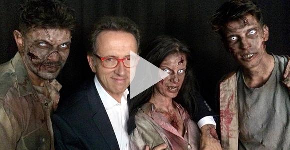 Jordi Hurtado se adentra en el universo de 'The Walking Dead'.   FOX