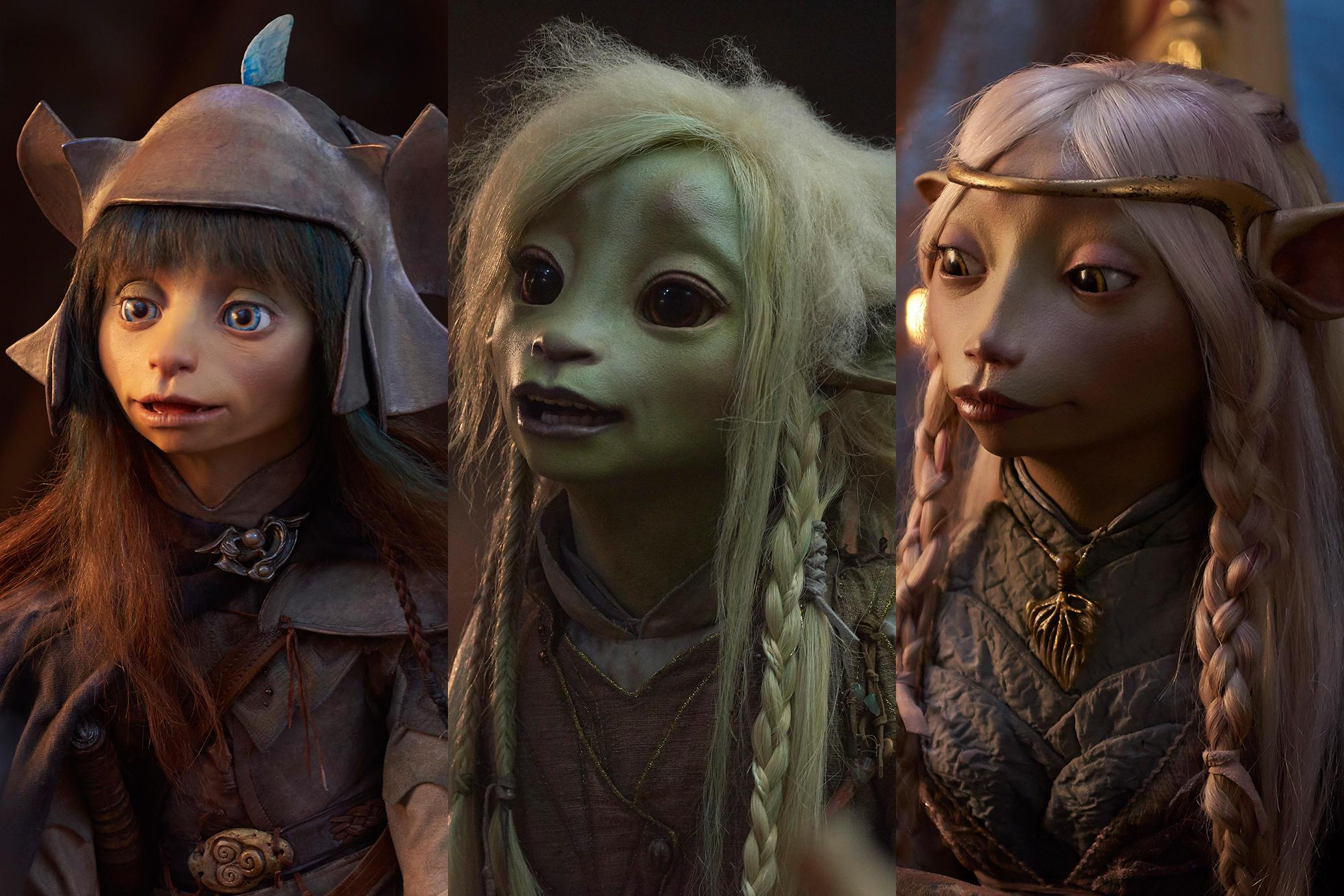 Primeras imágenes de 'The Dark Crystal: Age of Resistance'.