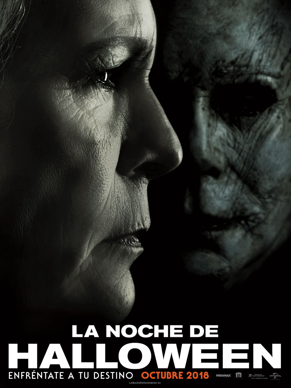 Póster de 'La Noche de Halloween', de David Gordon Green.