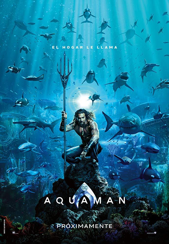 Póster de 'Aquaman'.