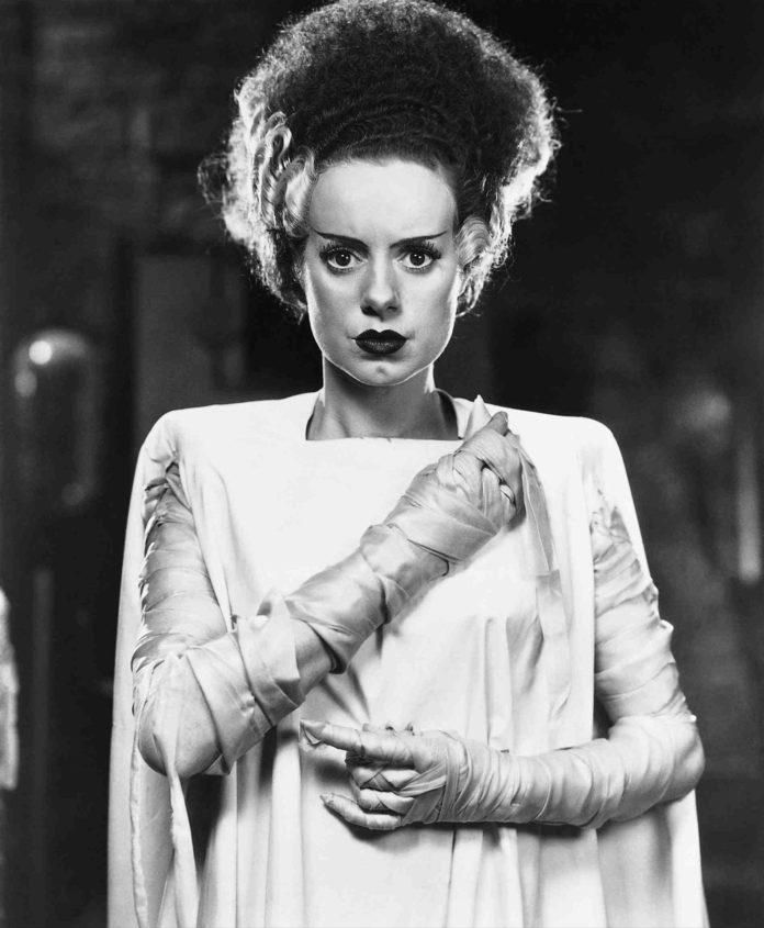 Elsa Lanchester en 'La novia de Frankenstein'.